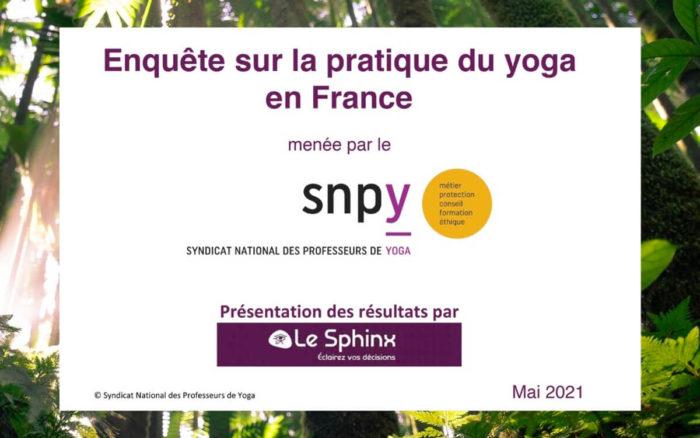 Grande enquête sur la pratique du yoga en France