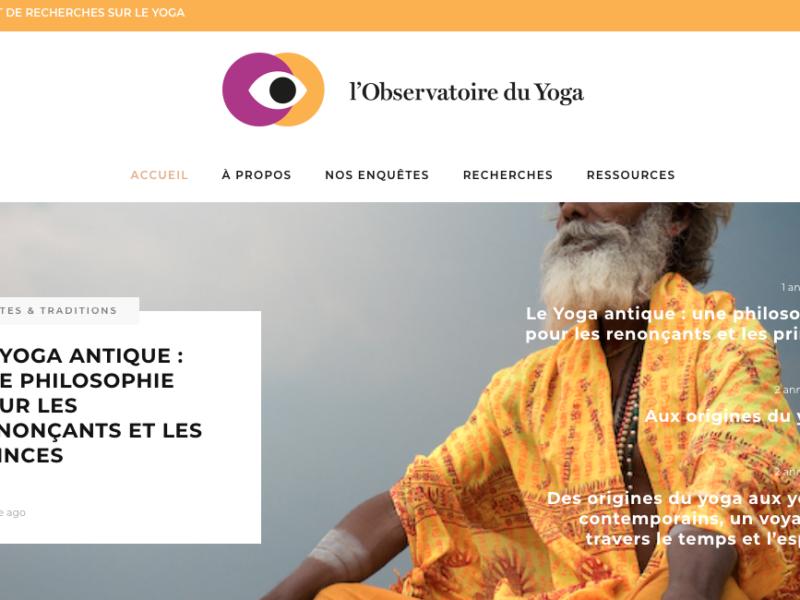 observatoire du yoga